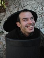 Mat - he doesn't always hide in the bin.